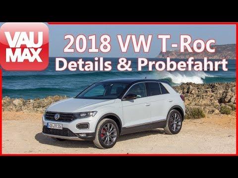 2018 VW T-Roc Sport & Style im Review / Fahrbericht / Details / Kaufberatung / TEST / #VAU-MAX.tv