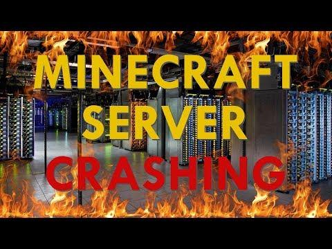 Minecraft Server Crashing - We're Back!!!