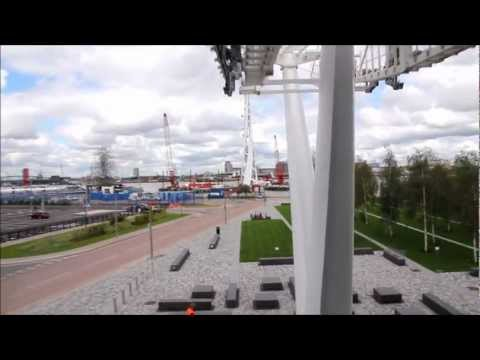 Emirates Royal Docks Cable Car Take Off