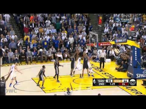Jonathon Simmons Defensive Highlights vs Golden State Warriors October 25, 2016