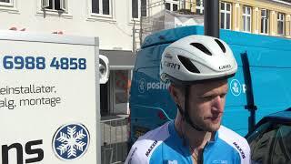 Conor Dunne forud for første etape i PostNord Danmark Rundt 2019