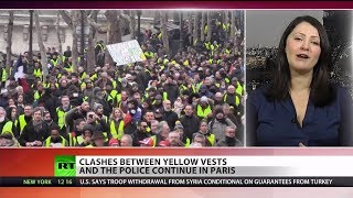 Yellow Vests Face Violence