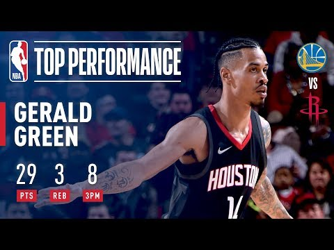 Gerald Green Scores 29 Points Off The Bench vs. Warriors | January 4, 2018