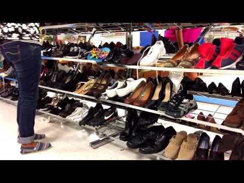 Секондхенд обувной день 1 часть