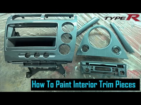 Painting Plastic Interior Trim Type R Project 12 Youtube