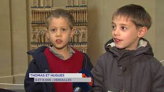 Versailles : l'exposition Kapla rencontre un immense succès