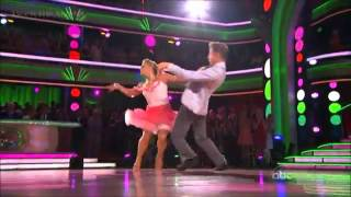 Shawn Johnson   Derek   Jive   DWTS Allstars Week 2
