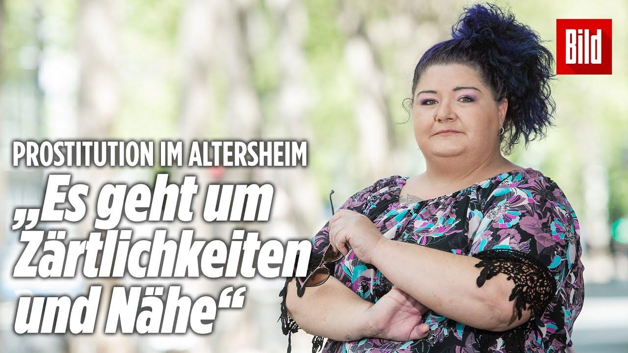 Prostitution: Nadine bietet Sex im Altersheim an - YouTube
