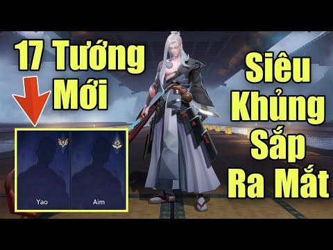 Sau tướng Tachi sẽ là loạt 17 vị tướng được ra mắt - Siêu khủng Yao, Aim, Mercury, Ares, Latona ...