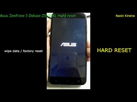 Asus Zenfone 3 Deluxe 5 5 ZS550KL Recovery Mode Videos - Waoweo