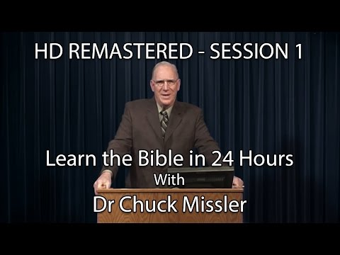 Learn the Bible in 24 Hours - Hour 1 - Small Groups  - Chuck