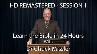 Video Learn the Bible in 24 Hours - Hour 1 - Small Groups  - Chuck Missler download MP3, 3GP, MP4, WEBM, AVI, FLV Juni 2018