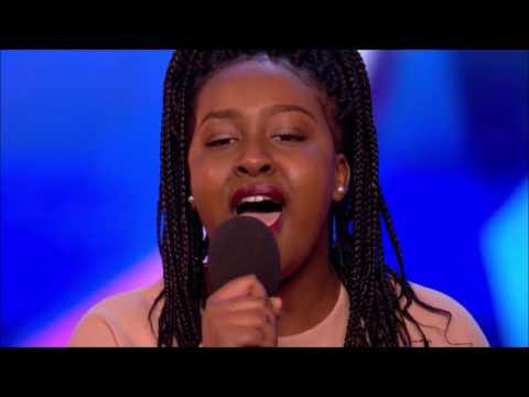 Sarah Ikumu First GOLDEN BUZZER of 2017 | Auditions 1 | Britain's Got Talent 2017