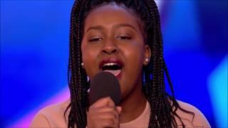 Sarah Ikumu First GOLDEN BUZZER of 2017 | Auditions 1 | Brit...