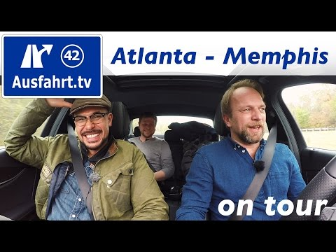USA-Roadtrip Coast to Coast: Atlanta - Memphis #mbc2c #mbrtc2c16 Ausfahrt.tv on tour