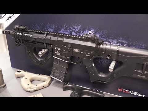 IWA 2018 - ASG - HERA ARMS CQR Airsoft - Low Ready Media Messecheck