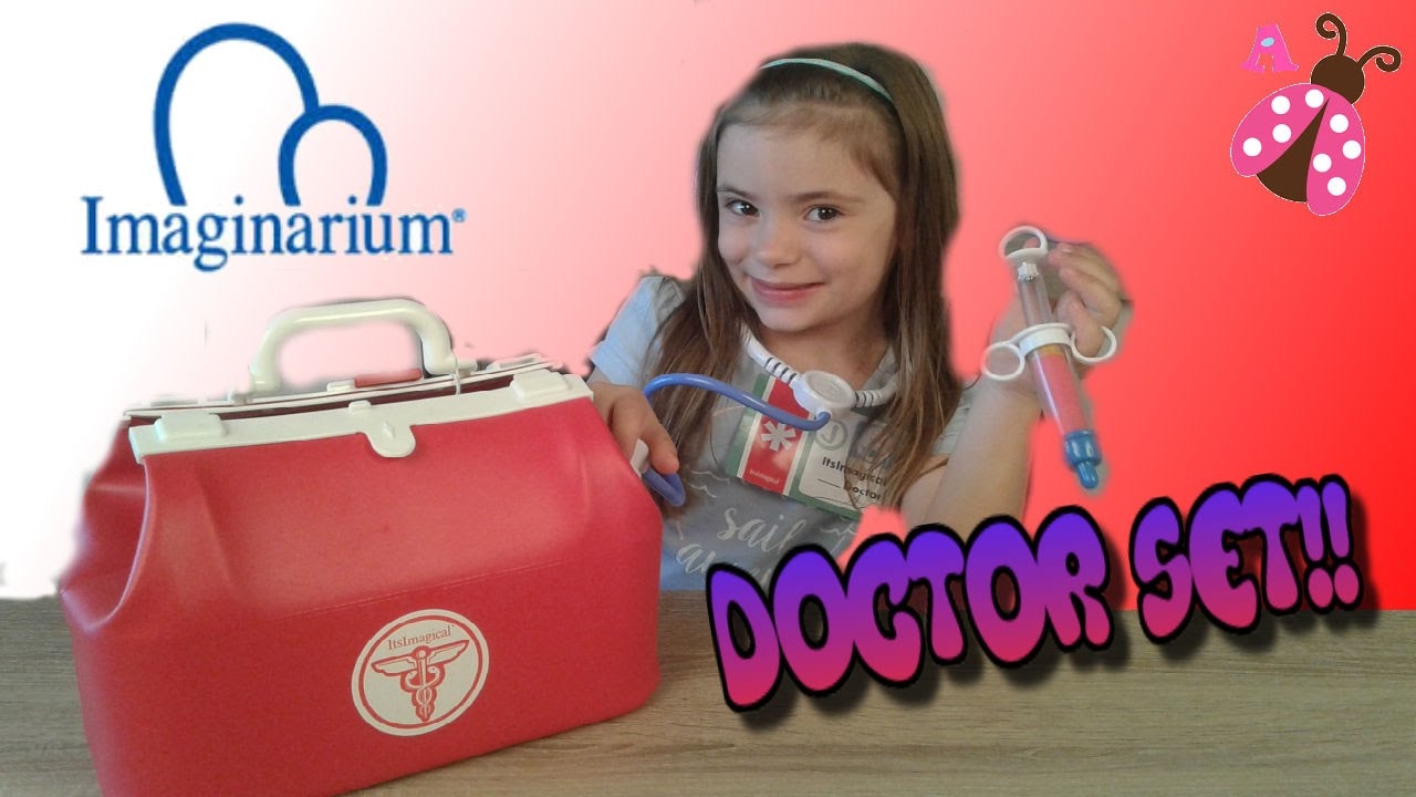 Maletin Va De Médico Nenuco Imaginarium Al Juguete Doctor Set Medico Juguetes 3TluFJK1c