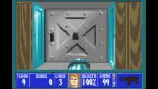 WOLFENSTEIN 3D - GAME BOY ADVANCE VERSION - ALL BOSSES COMPLETE WALKTHORUGH