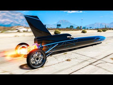 "WORLD'S FASTEST ""JET CAR"" In GTA 5! (Mods)"