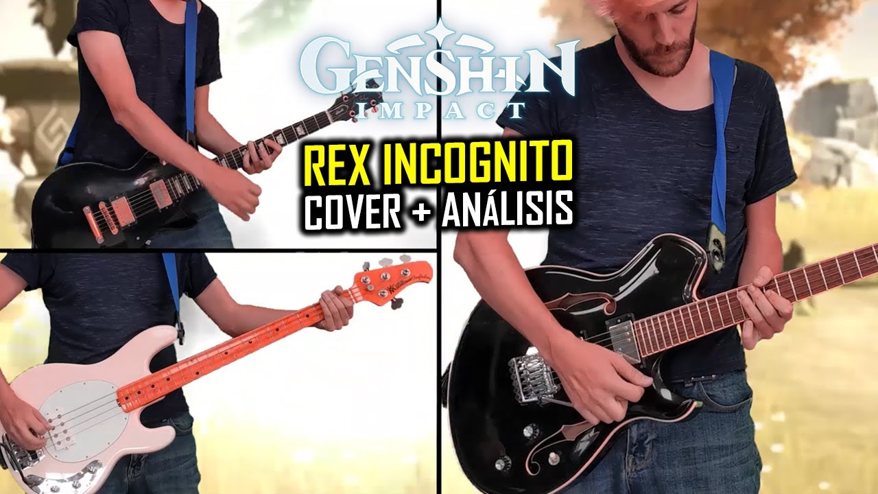 Rex Incognito (Genshin Impact) Análisis + Cover | ShaunTrack
