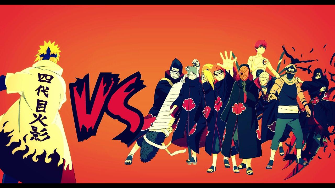 minato namikaze vs 9 tailed fox | yepp :D | Akatsuki Hunter | Flickr