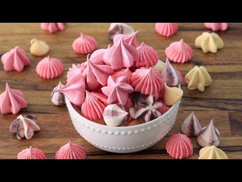 Meringue kisses Recipe How to Make Meringue Cookies