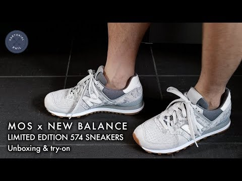 hot sale online 98a2f f8f8e MOS x New Balance 574 Limited Edition Men's Sneakers 2018 (Ministry of  Supply)
