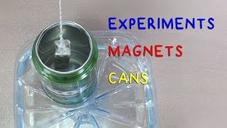 Experiments with Magnets Cans and More