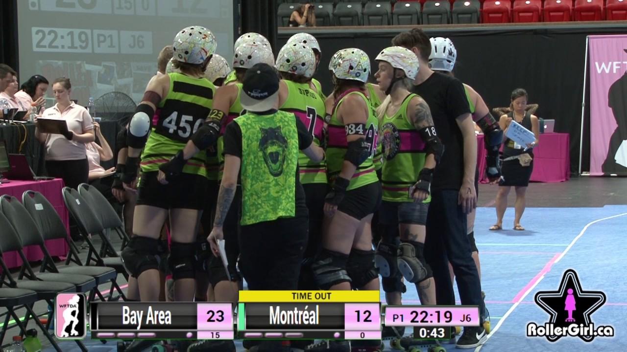 Roller skating montreal - Game 16 Montr Al Roller Derby V Bay Area Derby