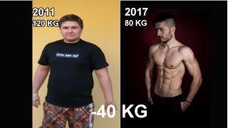 Ako som schudol - 40 KG / Moja Extremna premena/ Fitness motivacia