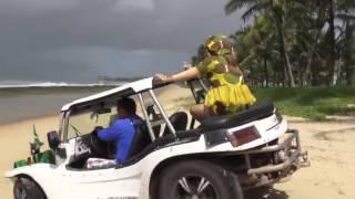 Doña Merry en traje de baño en Brasil