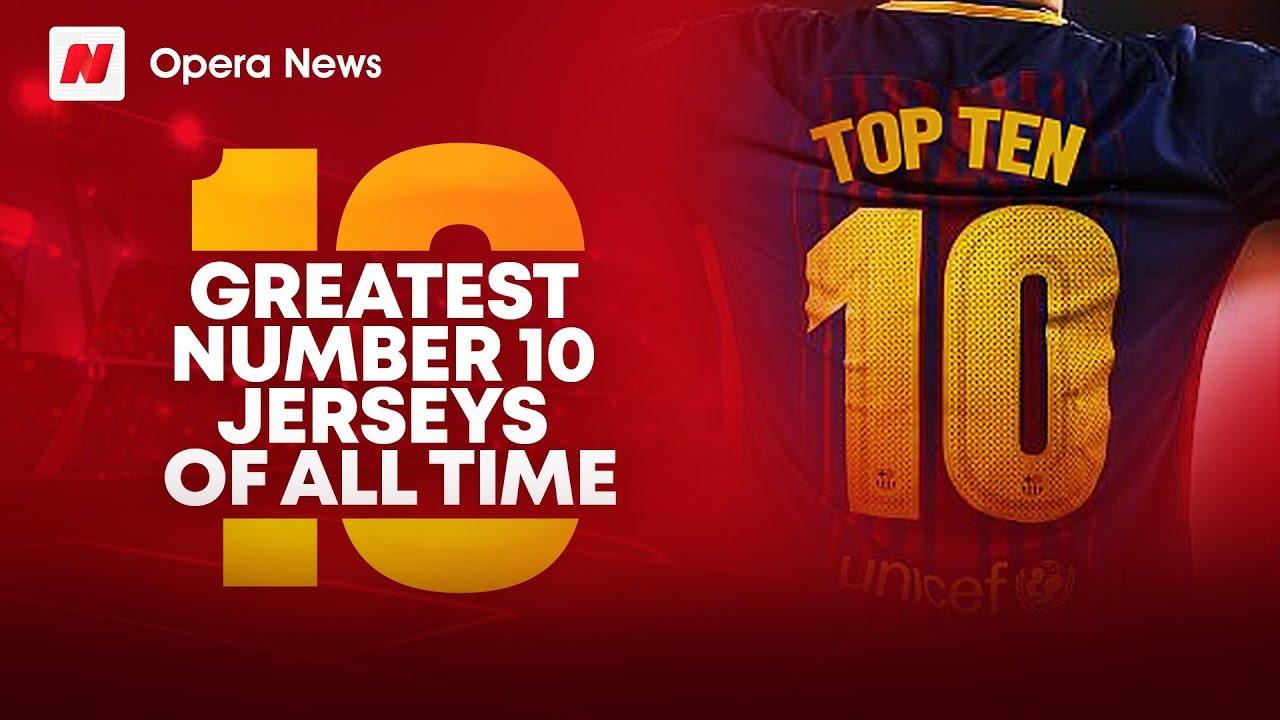 top ten jersey