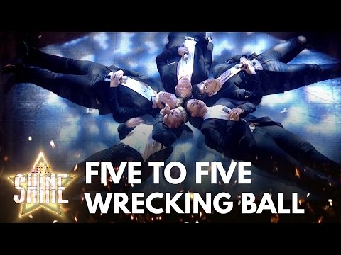 Five To Five perform 'Wrecking Ball' by Miley Cyrus - Let It Shine 2017 - BBC One