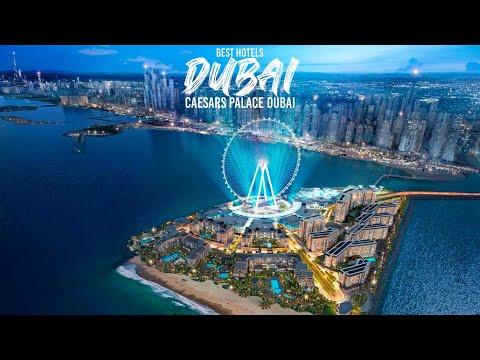 Best Hotels Dubai 2021. CAESARS PALACE DUBAI. Luxury Travel Dubai. Luxury Hotel Tour