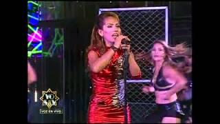 Mira cómo la imitadora de Thalía hizo vibrar al público en 'Yo soy'