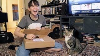 Unboxing My Silver Play Button | ASHA ETC