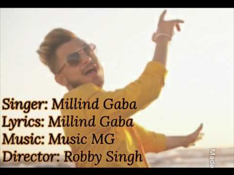 Haan Haan Hum Peete Hain Full Song Lyrics || Millind Gaba New Song (2017)