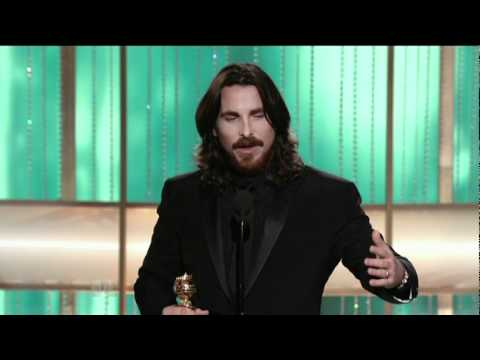 Golden Globes 2011 - Christian Bale Acceptance Speech