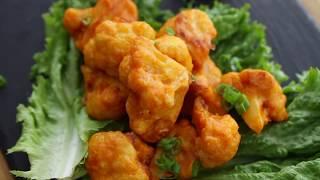 Buffalo Cauliflower Wings I The Buddhist Chef
