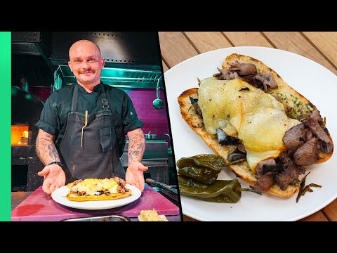 The $100 Philly CheeseSteak!!! Chefs UPGRADE Classic American Sandwiches!! - Best Ever Food Review Show