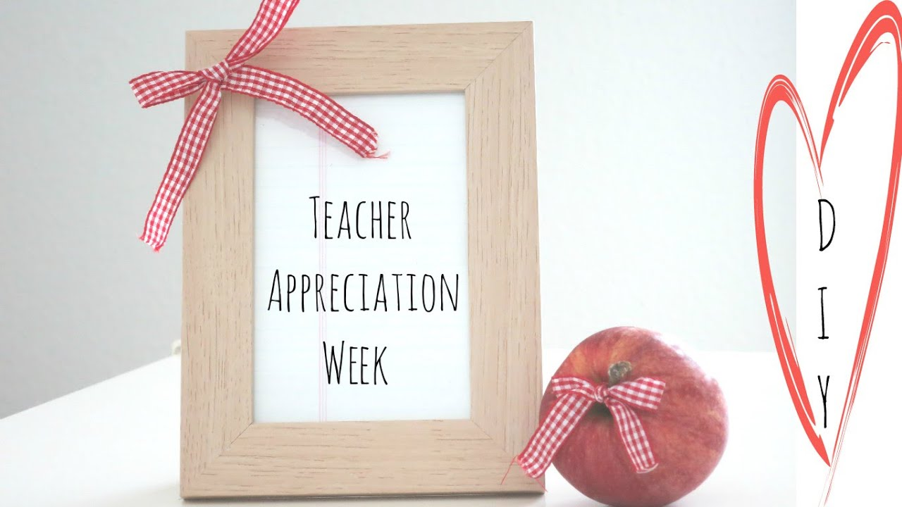 Teacher Appreciation Gift Ideas - YouTube