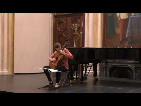 """Petra Poláčková plays Manuel Marìa Ponce: Variations and Fugue on the """"Folia de Espana"""""""
