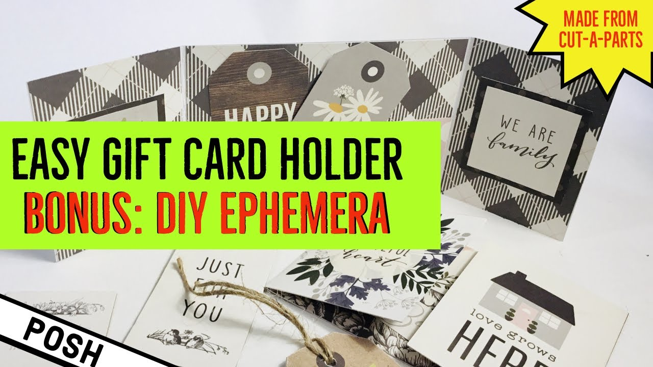 ⭐️BEST DIY GIFT CARD WALLET EVER⭐️Easy DIY Gift Card Wallet/ Paper Craft Tutorial/ USE THE WHOLE PAD