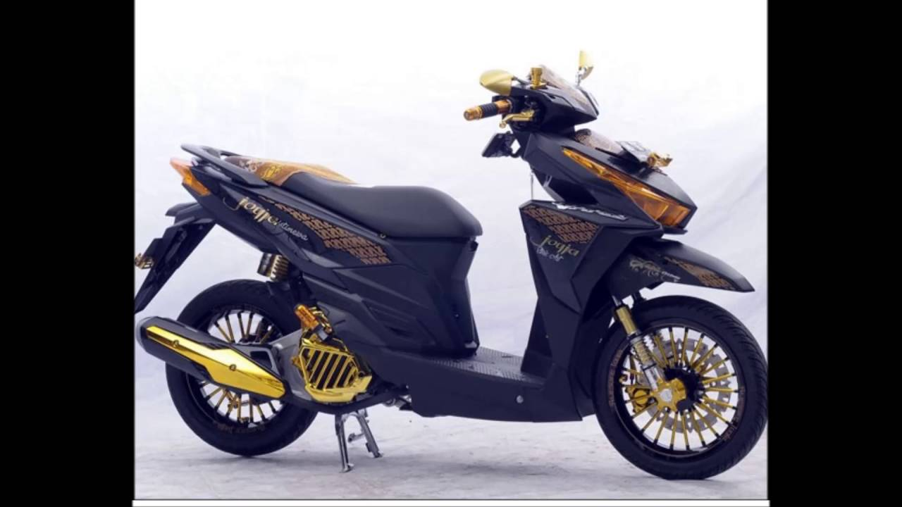 Download Kumpulan 88 Modifikasi Motor Vario 150 Simple Terlengkap