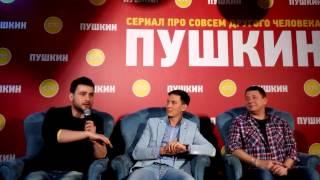 Сериал СТС «Пушкин» представили в Петербурге (7)