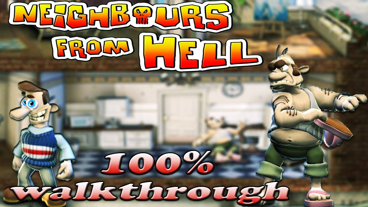 Download Neighbours From Hell 1 - ALL Seasons [100% walkthrough]