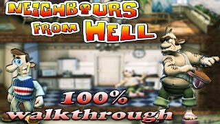 Neighbours From Hell 1 - ALL Seasons [100% walkthrough]