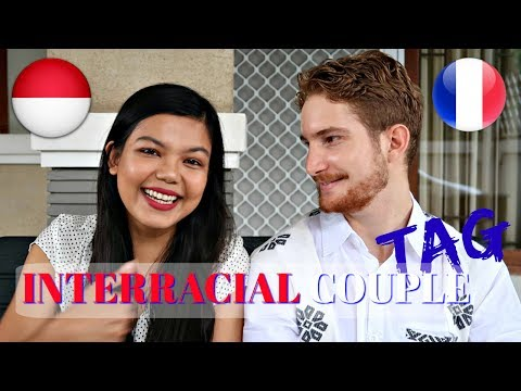 INTERRACIAL COUPLE TAG (FRENCH - INDONESIAN) | MattHera