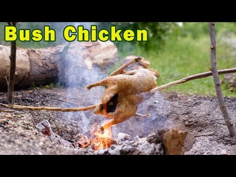 How to Cook Roast Chicken Bush Style
