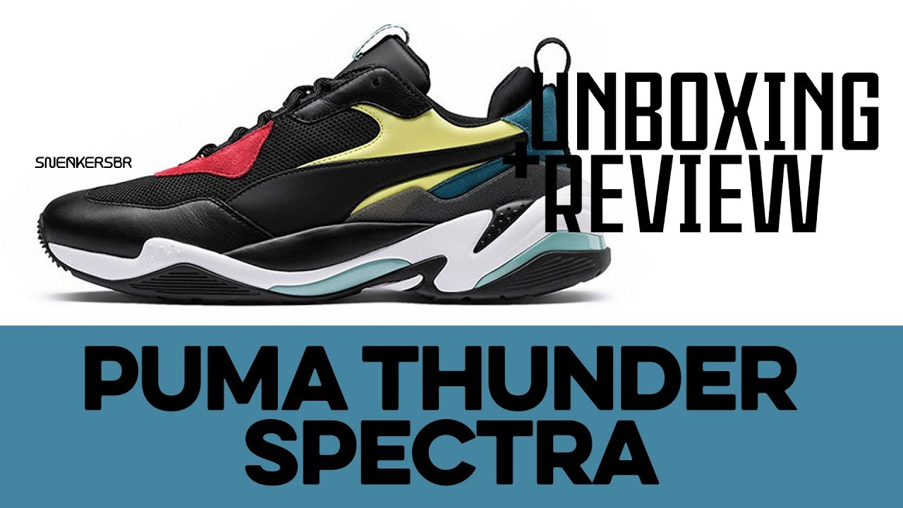 1b73d8571e5 UNBOXING+REVIEW - Puma Thunder Spectra. Sneakers BR
